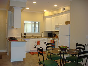Balmoral apartment model kitchen opt